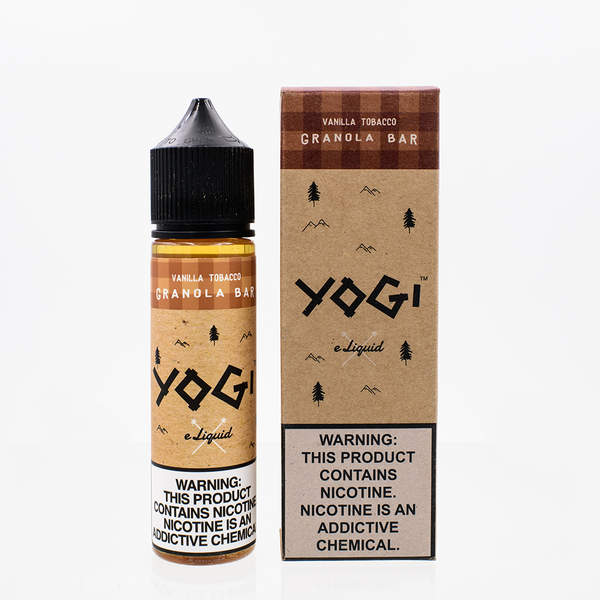 Yogi ELiquid - Vanilla Tobacco Granola Bar 60ML - Liquid Guys