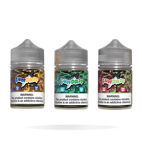 Fun Drip - 3 Pack Bundle 60ML - Liquid Guys