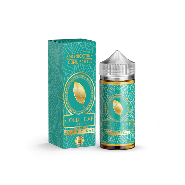 Gold Leaf Liquids - Green Cedar 100ML - Liquid Guys