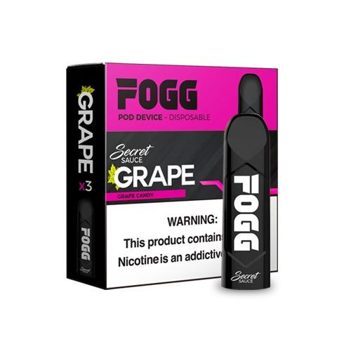 FOGG Pod Device - Grape - Liquid Guys