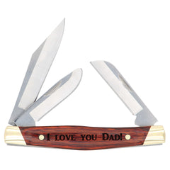 Personalized Engraved Buck BU301RWS Stockman pocket knife