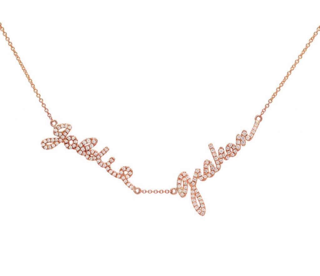 SINCERELY Signature Necklaces