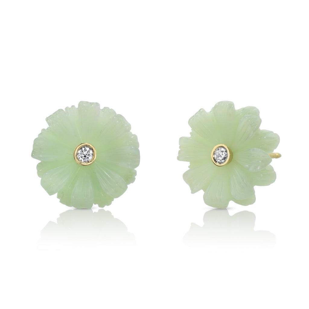 Small Wildlower Stud Earrings
