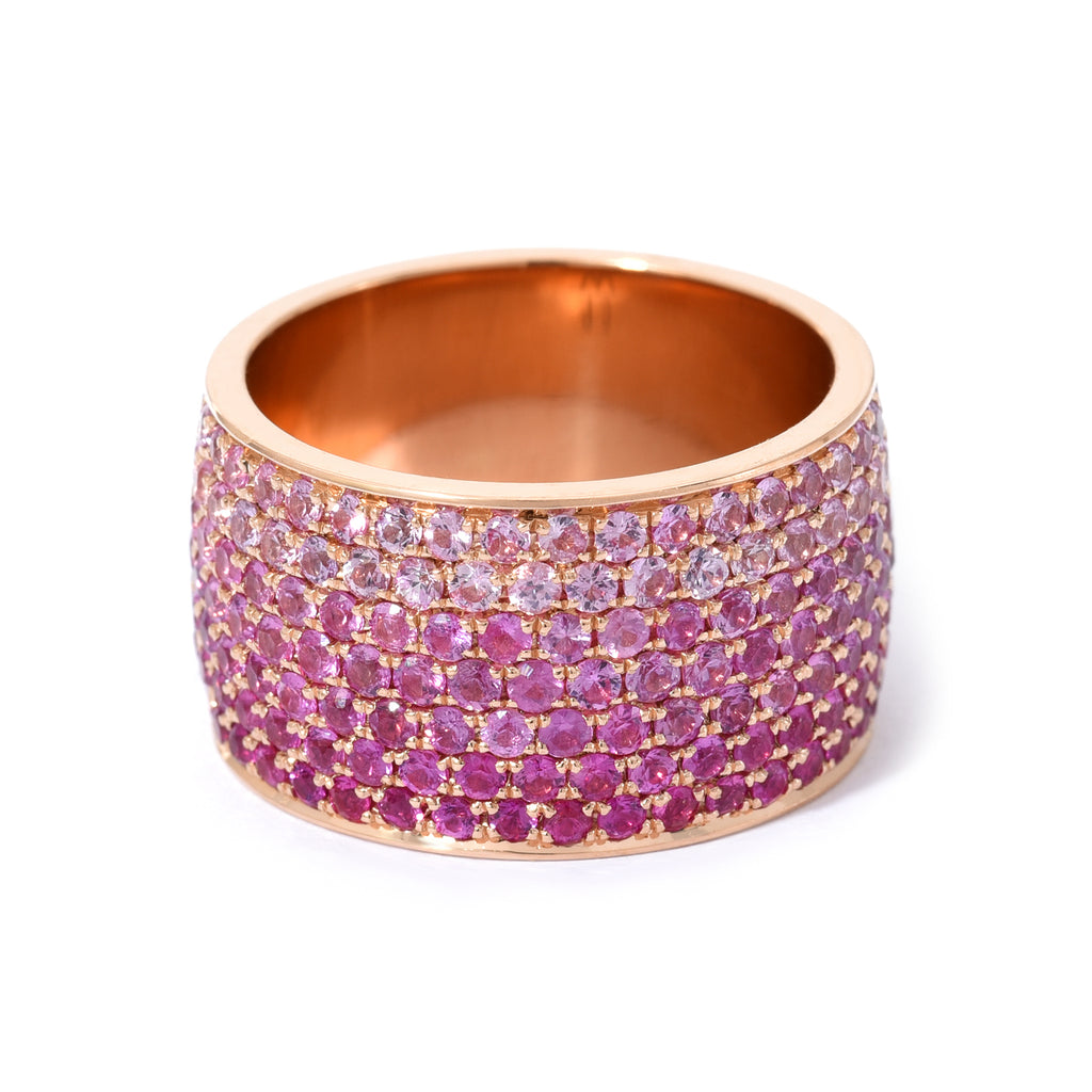 Ombre Borderless Cigar Ring