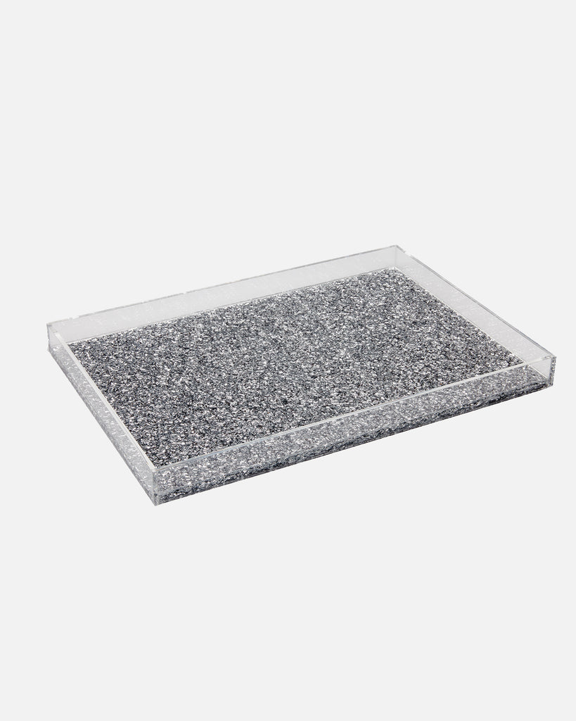 Large Tray Solid - Silver