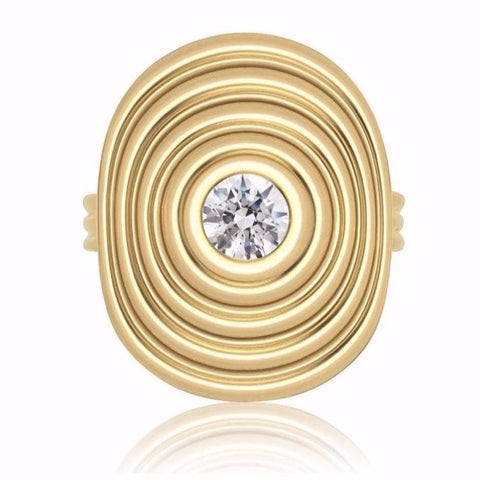 Sagesse - Universum Ring with Center Diamond