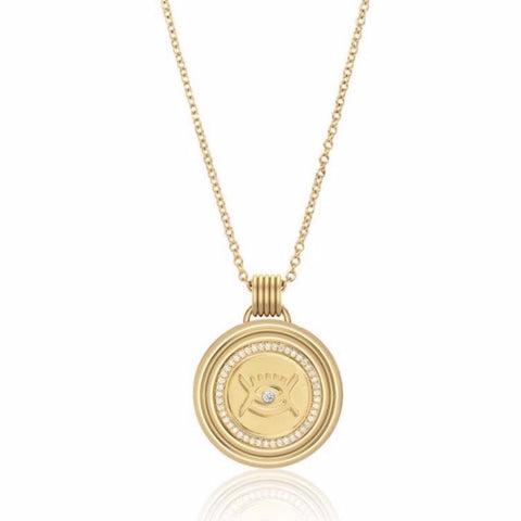 Sagesse - Vidi Pavé Medallion 23mm