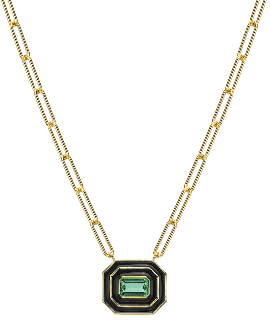 Museum Series Green Tourmaline Necklace