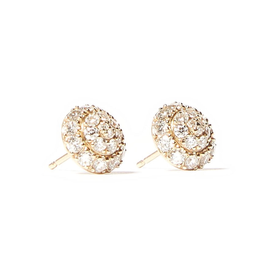 Evolve Stud Earrings - Diamond