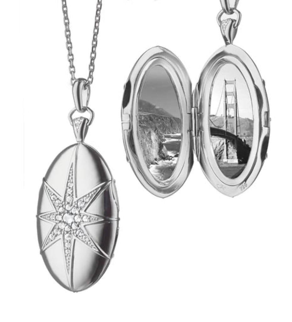 Star-Set Locket