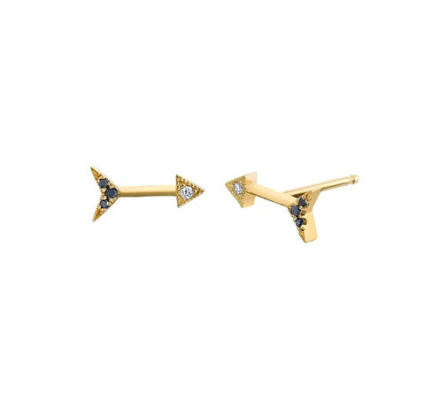 Mini Arrow Othello Stud