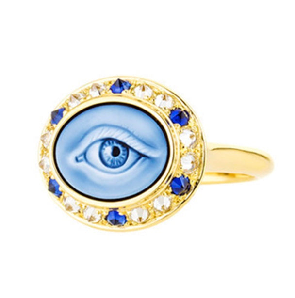 Eye Love Mini Ring