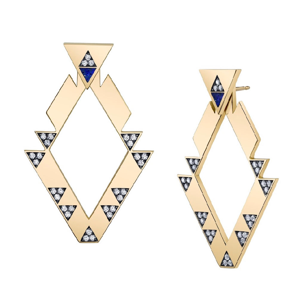Mana Four-Piece Triangle Stud + Jacket Set