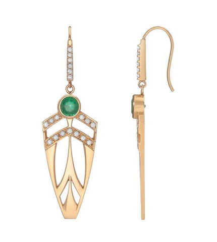 Supernova Arrowhead Earrings