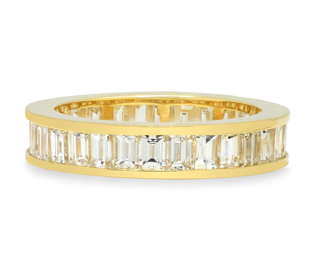 Baguette Cut Diamond Band