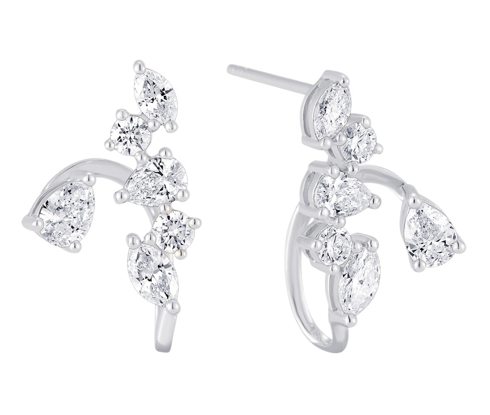 Purity 6 Diamond Ear Jacket
