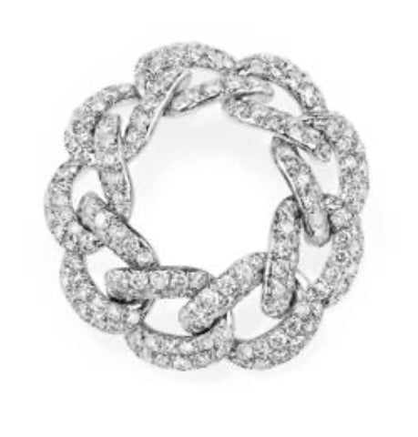 Essential Pavé Link Ring
