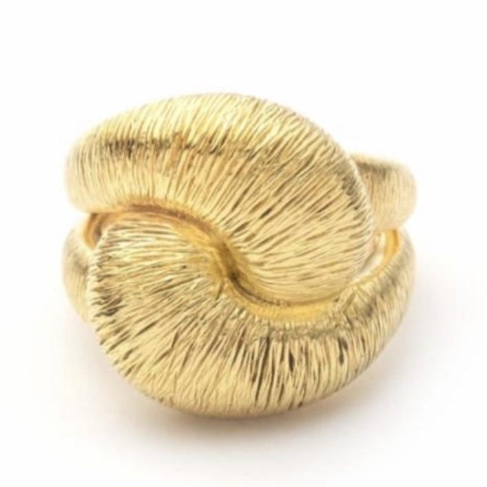 Textured Knot Ring