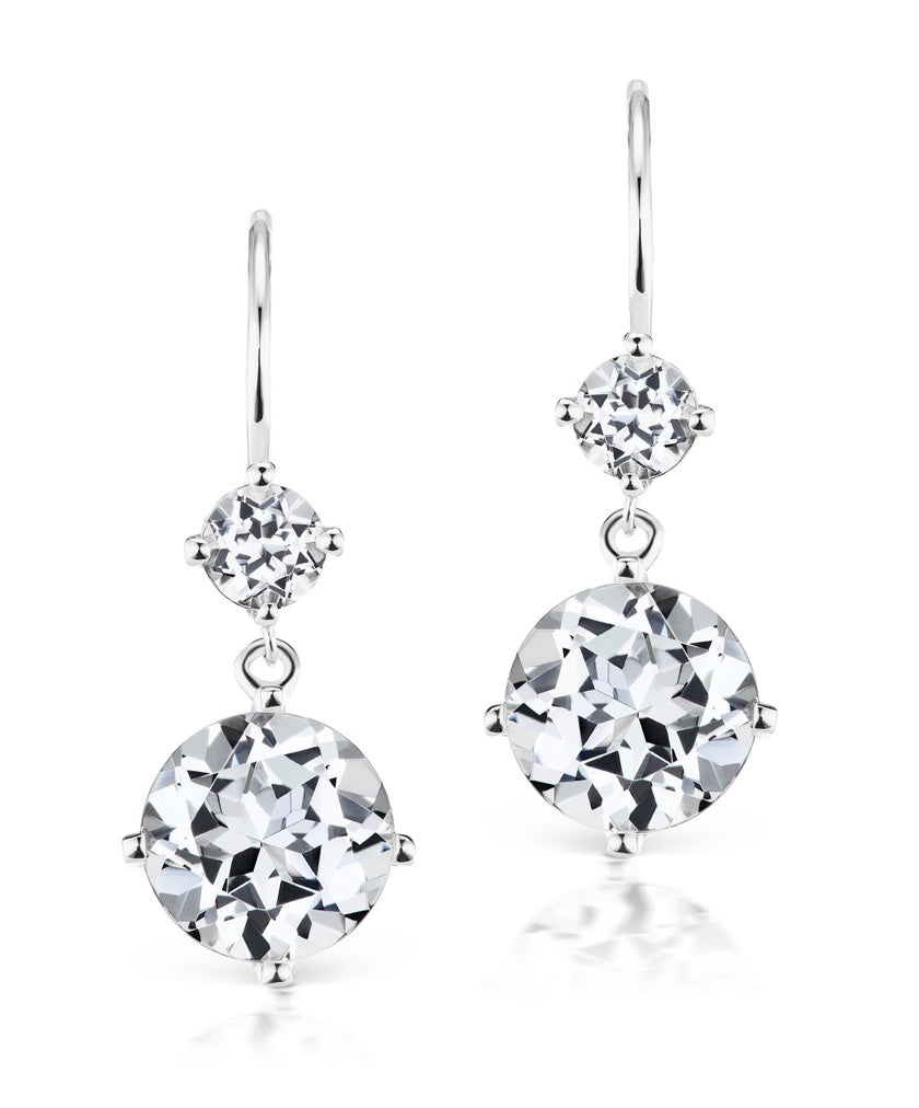 Petite Double Drop Earrings