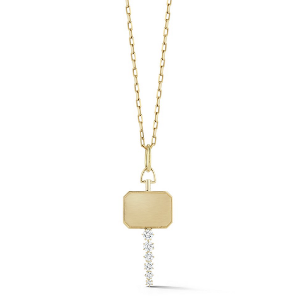 Catherine Key Necklace