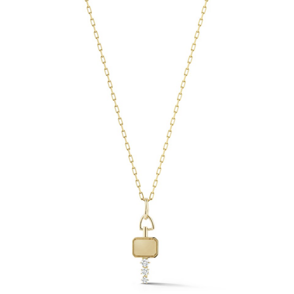 Mini Catherine Key Necklace
