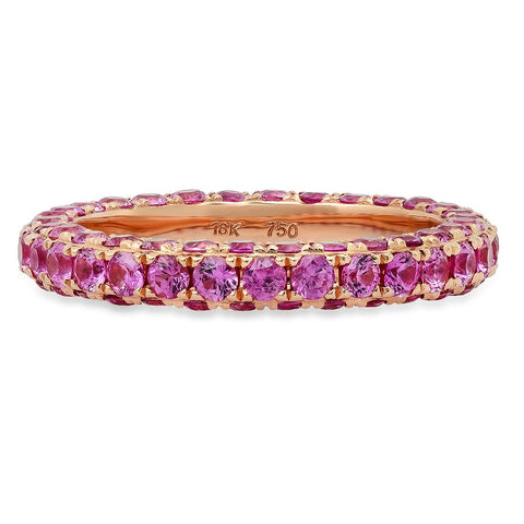 Pink Sapphire Ring