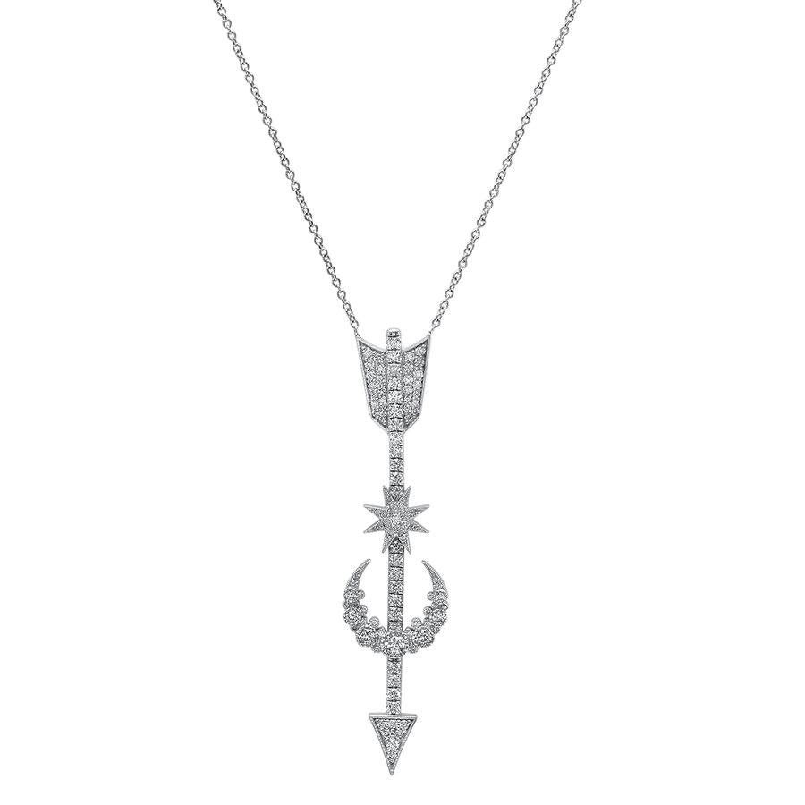 Star Arrow Pendant Necklace