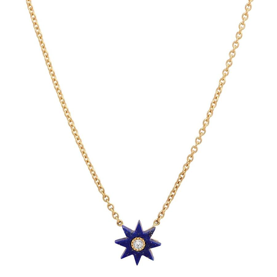 Twinkle Star Lapis Necklace
