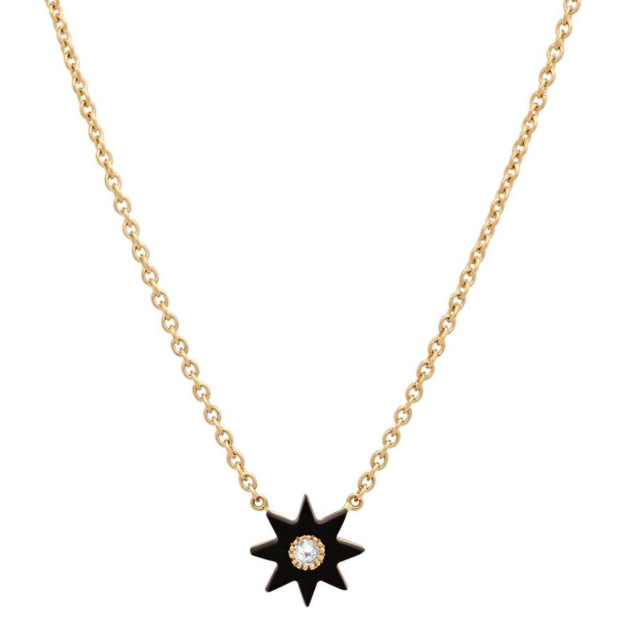 Twinkle Star Onyx Necklace
