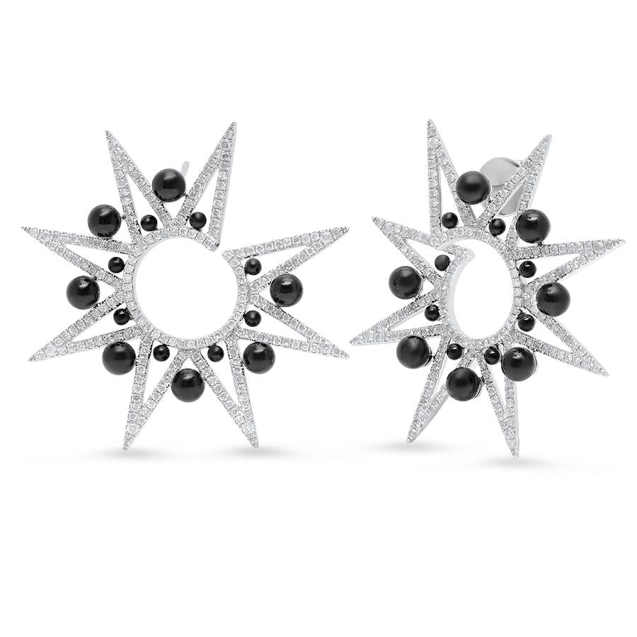 Alya Star Spike Earrings