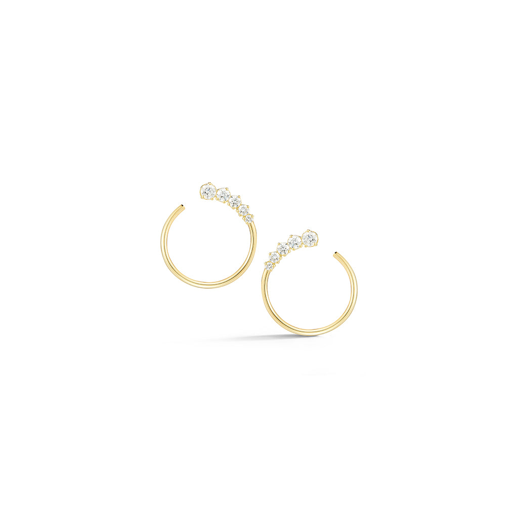 Privé Diamond Hoops