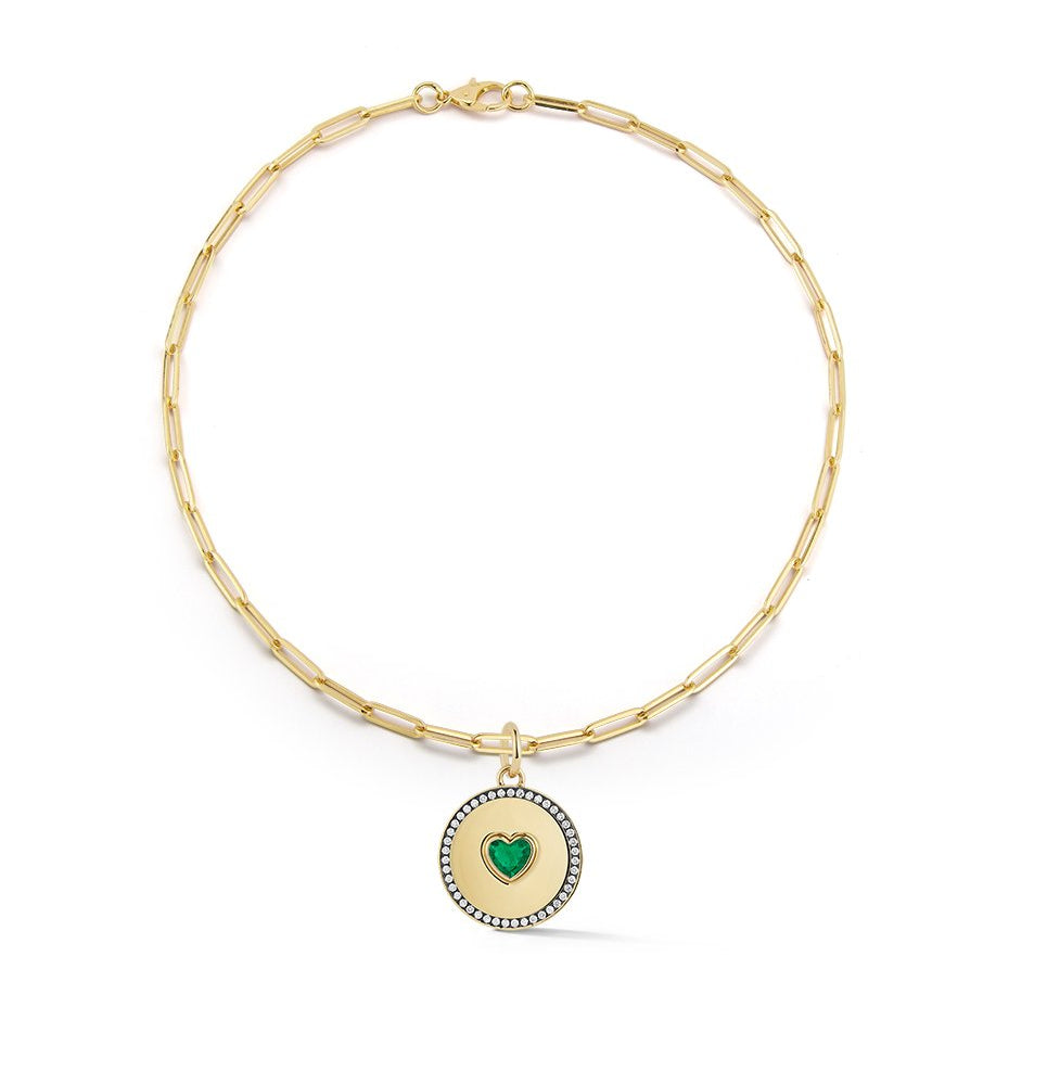 Privé Emerald Heart Necklace