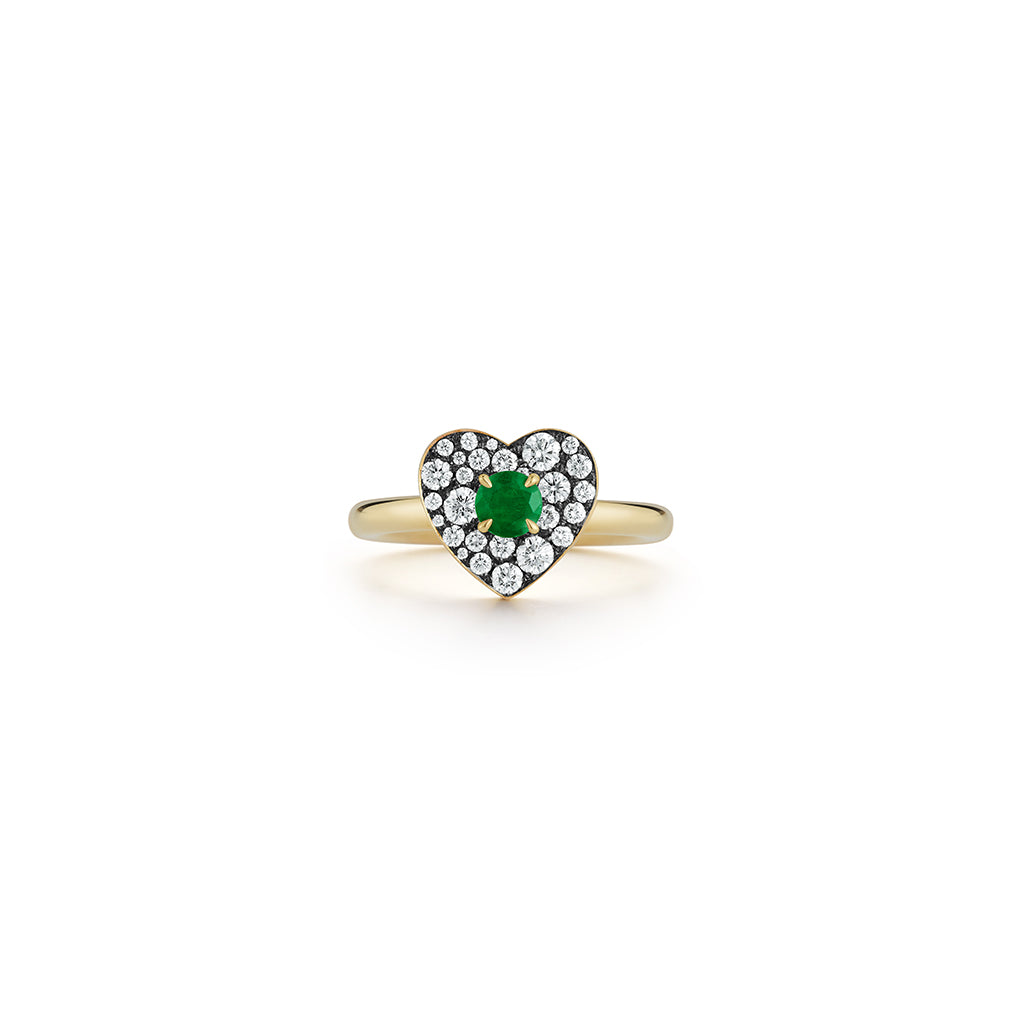 Privé Emerald Heart Ring