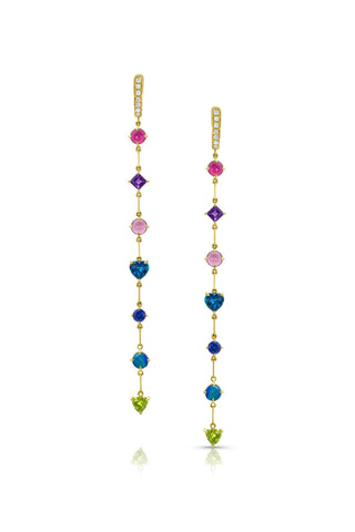 7 Gemdrop Earrings