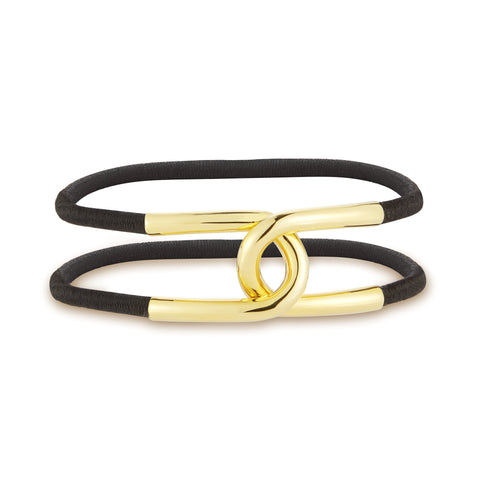 Gold Lucky Link Hair Cuff