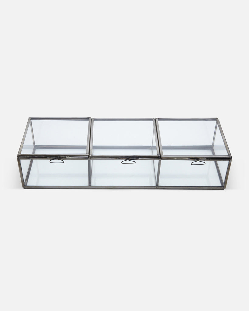 Glass Display Cabinets - 3 Box