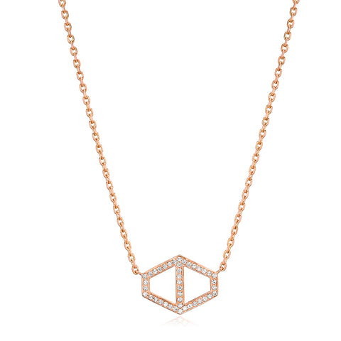 Keynes Large Hex Necklace