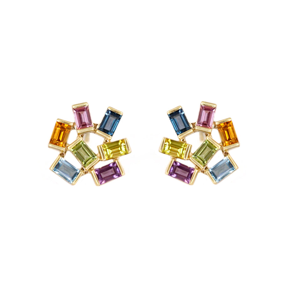 Multicolor Jubilation Earrings