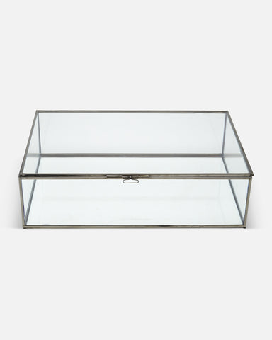 Single Large Glass Display Cabinet