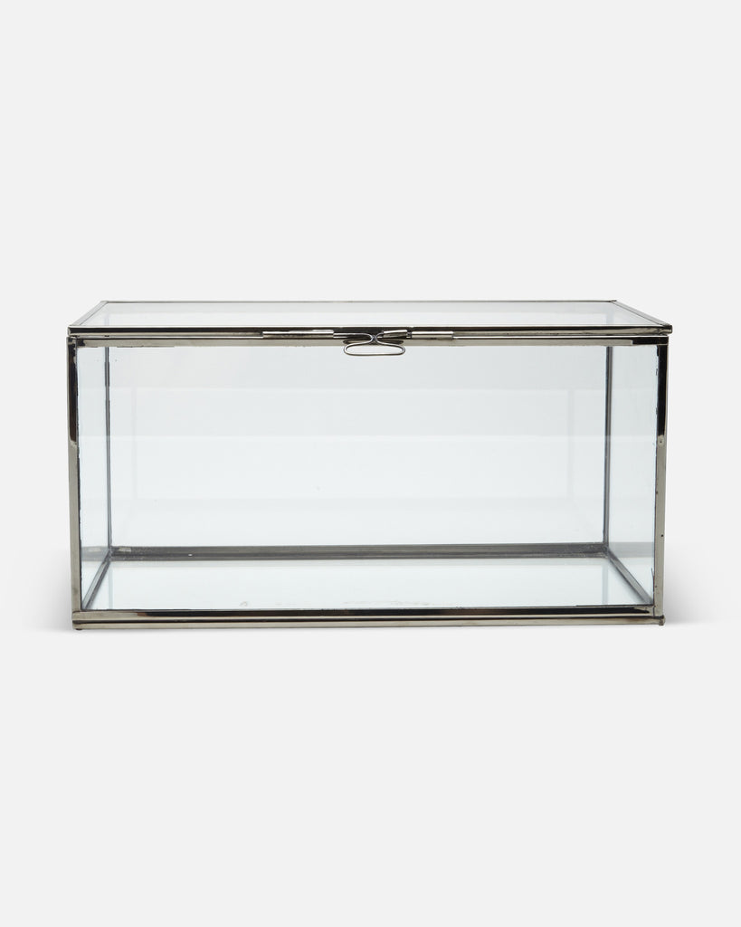 Single Small Glass Display Cabinet