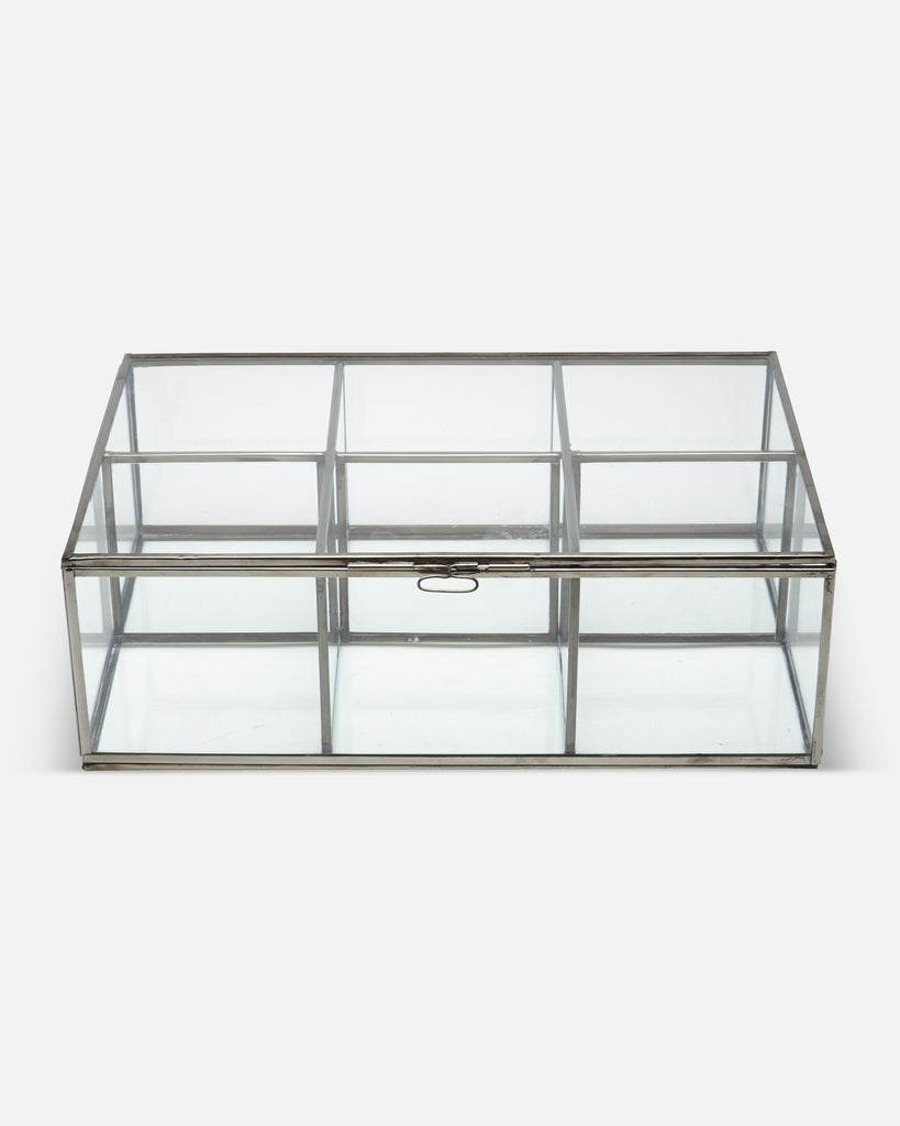 Glass Display Cabinet - 6 Box