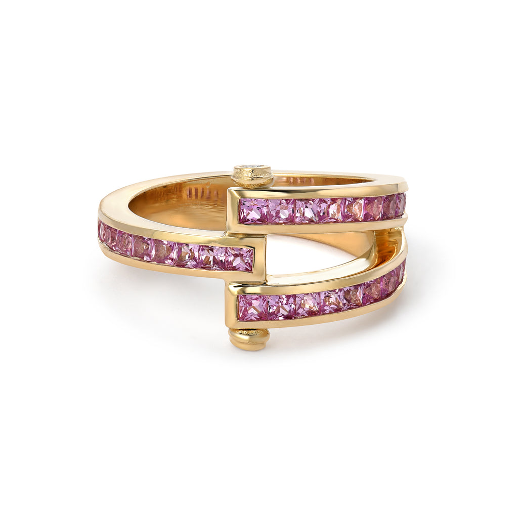 Magna Pink Sapphire Ring