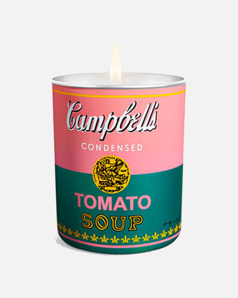Andy Warhol Campbell Pink/Green Candle