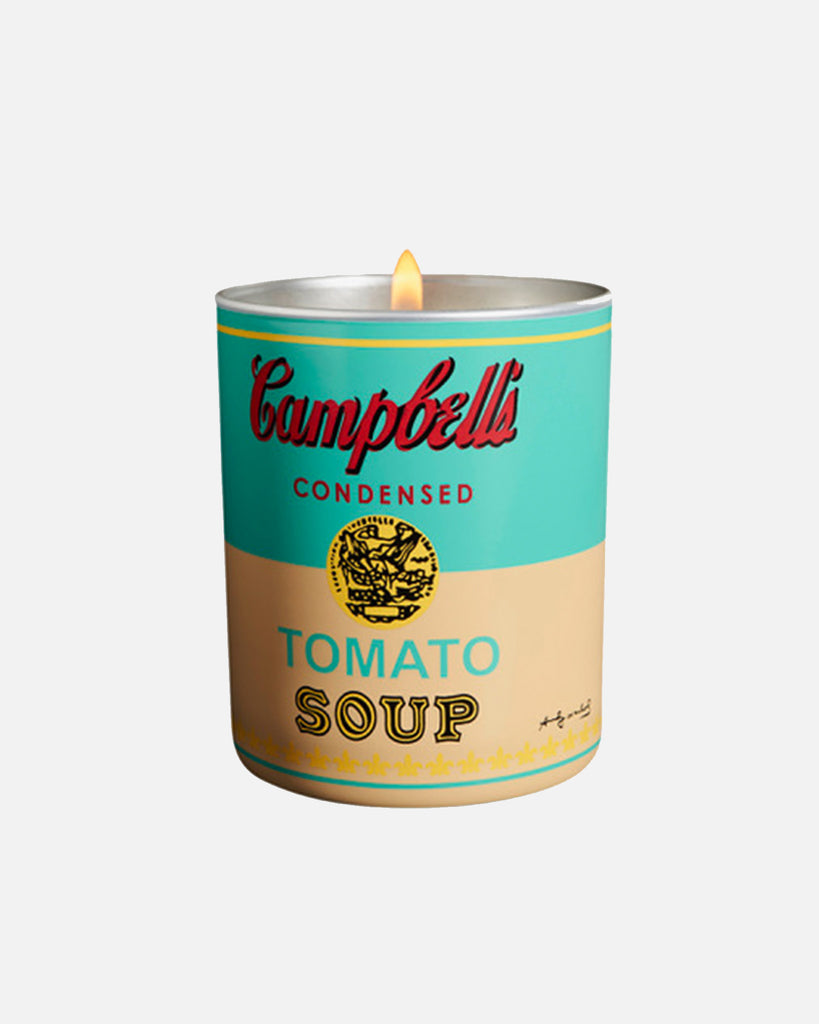 Andy Warhol Campbell Turquoise/Yellow Candle