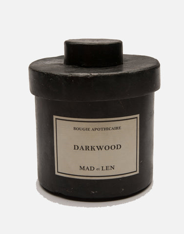 Bougie Apothecaire Darkwood (Wood and Cologne) 10.5 oz