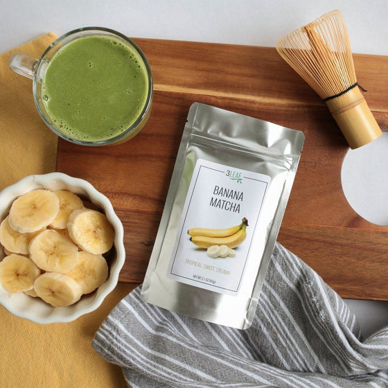 Banana Flavored Matcha - 3 Leaf Tea