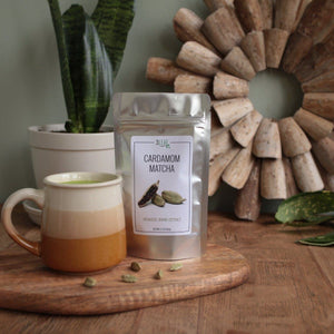 Cardamom Matcha | 3 Leaf Tea | Flavored Japanese Green Tea