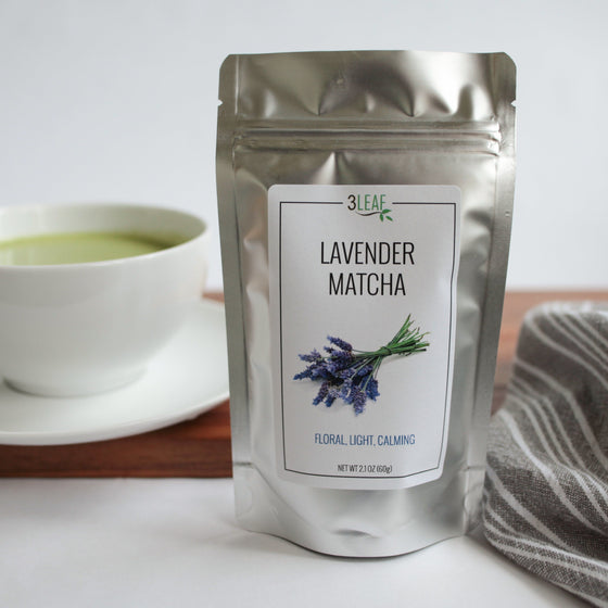 Lavender Flavored Matcha - 3 Leaf Tea