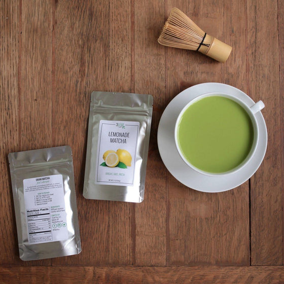 Lemonade Flavored Matcha - 3 Leaf Tea