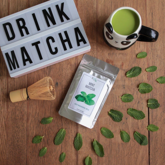 Mint Flavored Matcha - 3 Leaf Tea